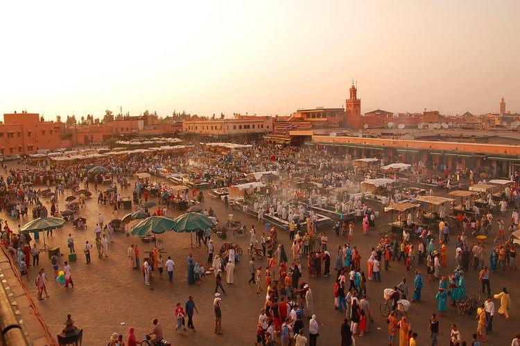 activities blue waves marrakech place