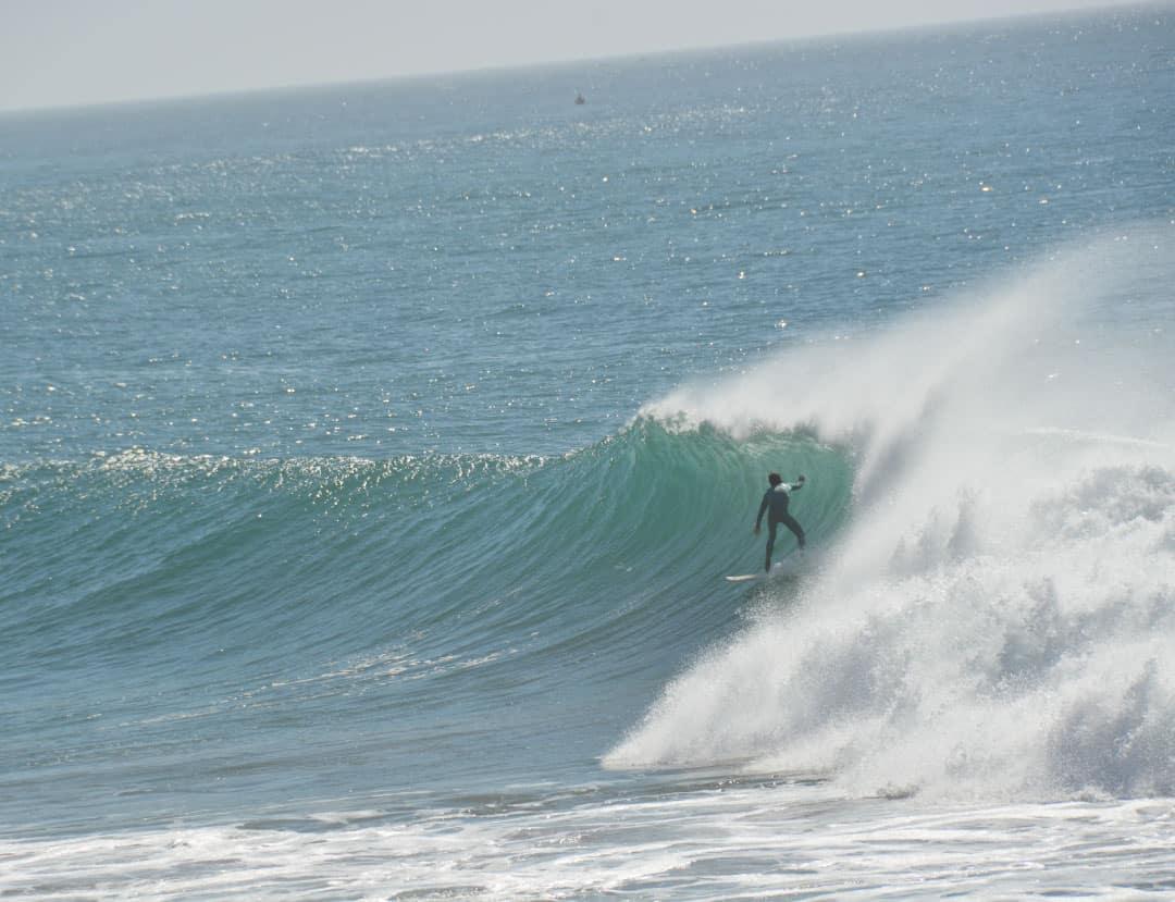 ondes bleues grandes vagues Maroc