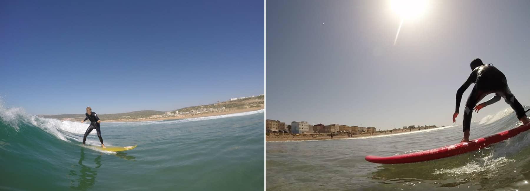cours de surf Blue Waves Maroc