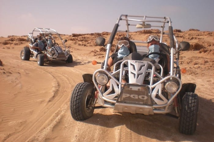 travel in quads / buggy blue waves