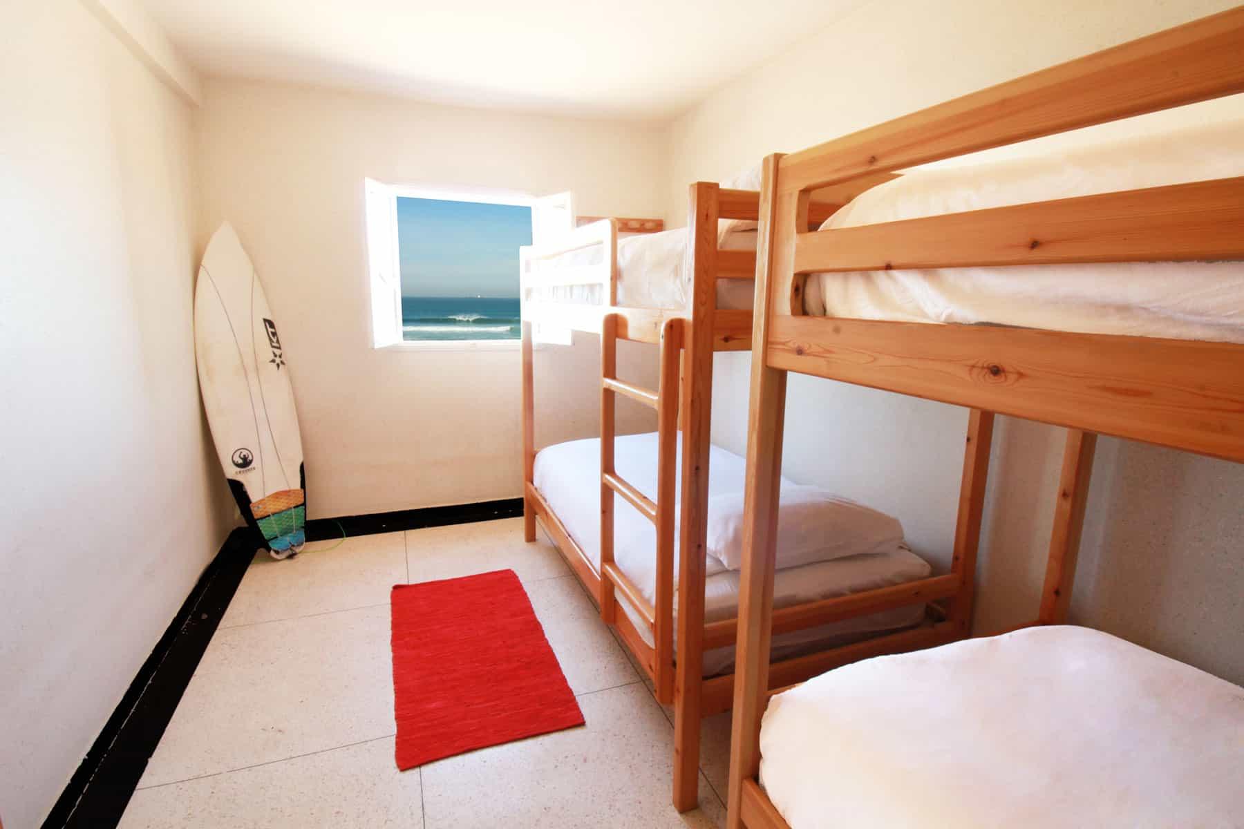 surf camp habitaciones