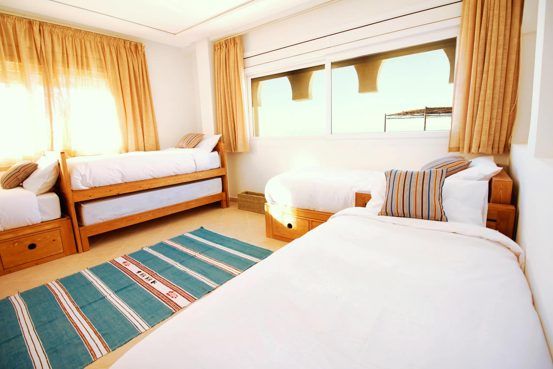 Blue waves - surf house tamraght modular room 2
