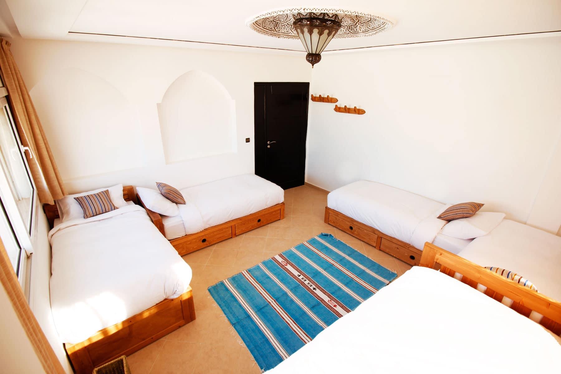 Blue waves - surf house tamraght modular room