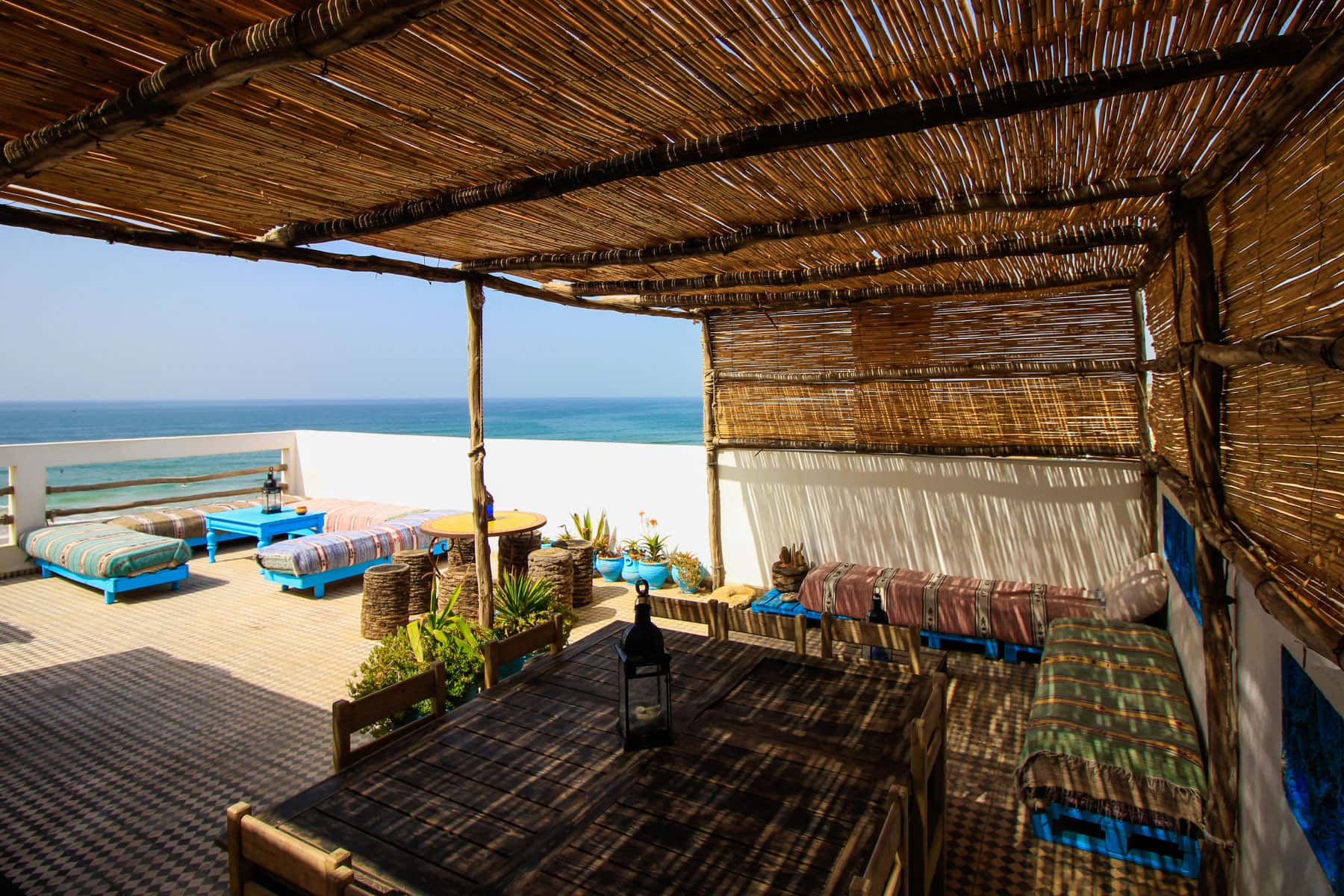 Surfing Holidays in Agadir Morocco - Surfhouse Anza - Bluewavesmorocco