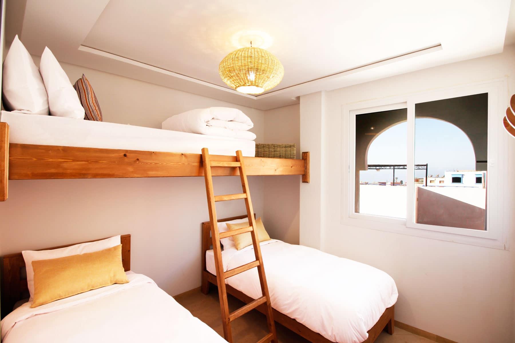 Blue waves - surf house tamraght modular room 3