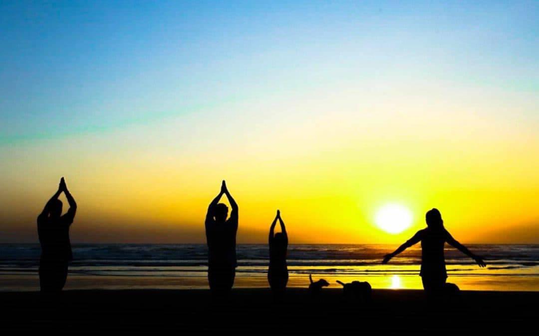 Surf into Yoga