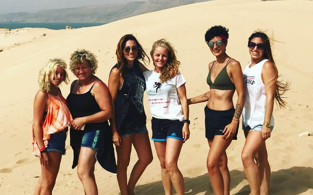 The girls of the Dunes