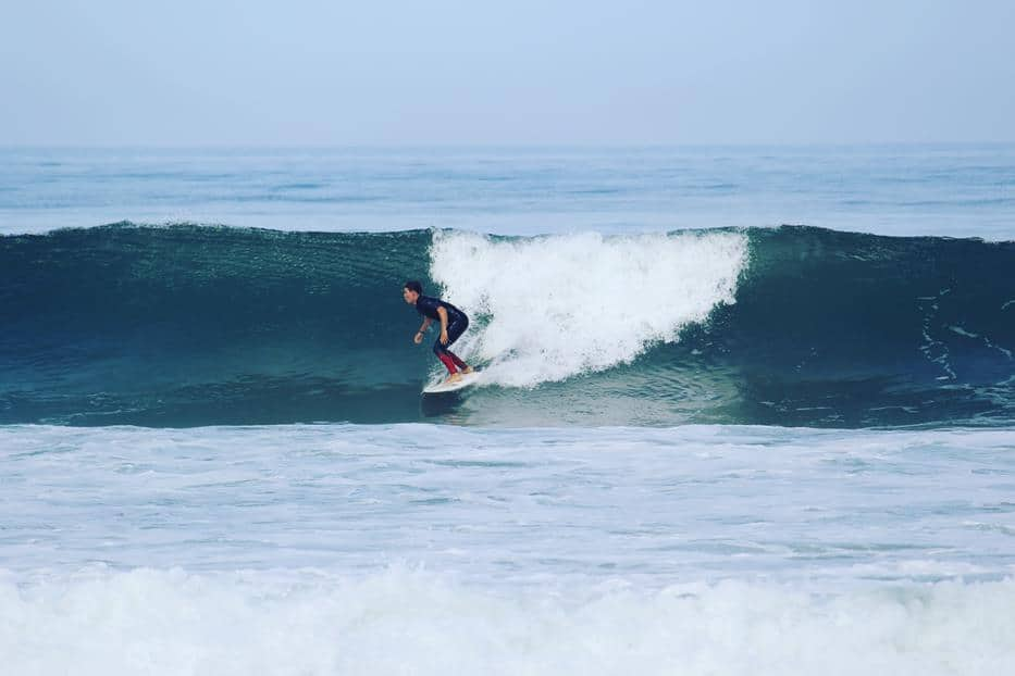 About the last swell