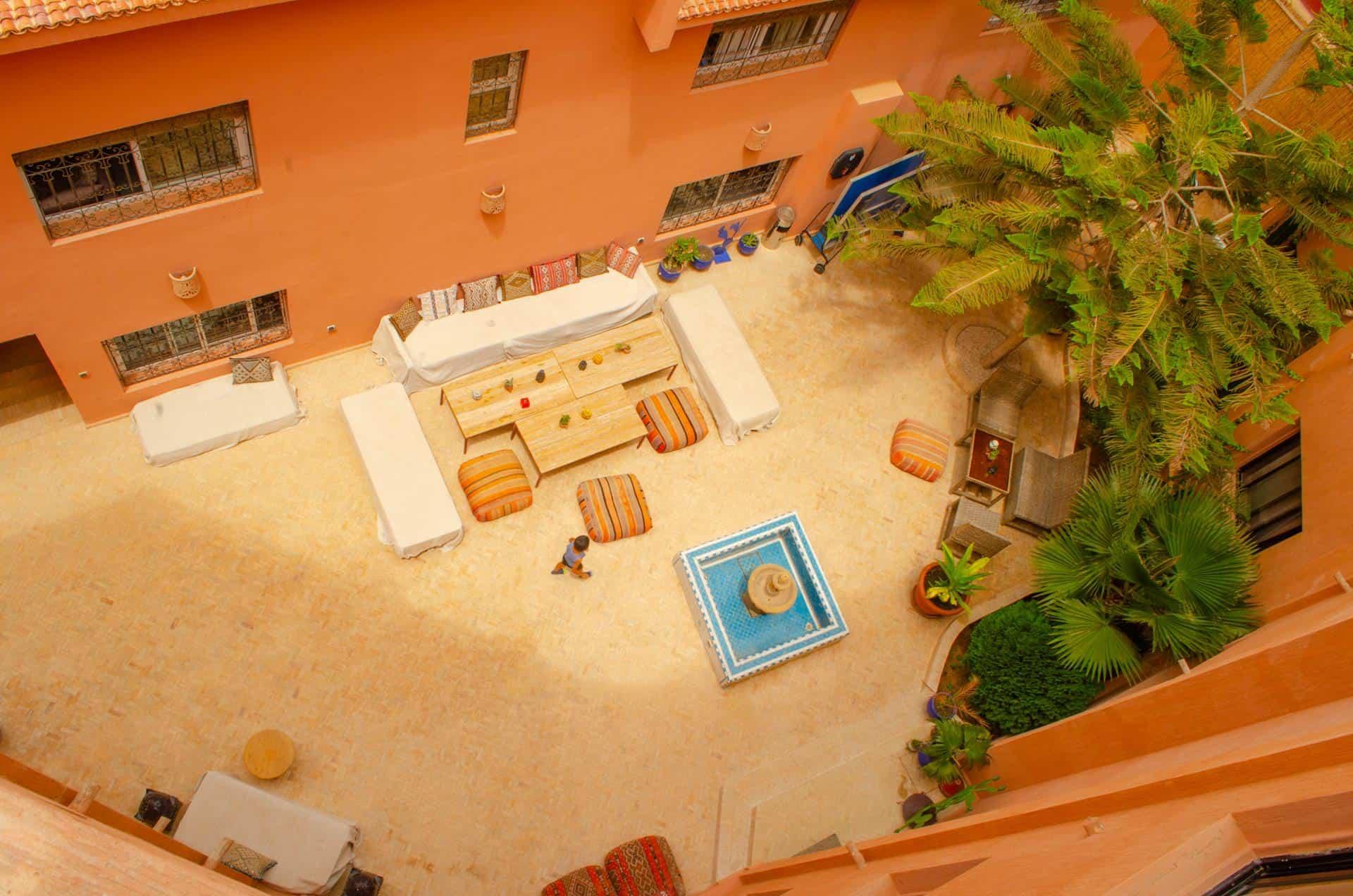 bluewavesurfhouse-terrace-vila-tamraght