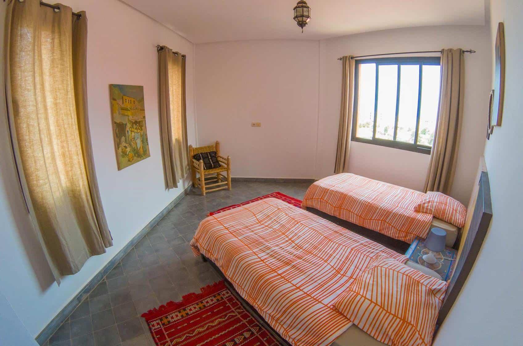 tamraght-vila-bluewavesurfhouse-doubleroom