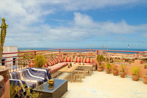 Surfing Holidays in Agadir Morocco - Surfhouse Tamraght - Bluewavesmorocco